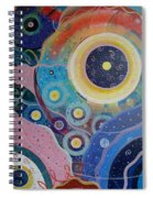 Cosmic Carnival Vl Aka Circles Spiral Notebook