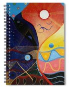 Cosmic Carnival Vlll Aka Sacred And Profane Spiral Notebook