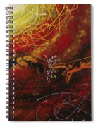 Cosmic Contact Spiral Notebook