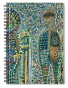 Cosmic Creation Of Adam And Eve Spiral Notebook