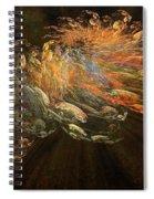 Cosmic Dust And Light Beauty Fine Fractal Art Spiral Notebook