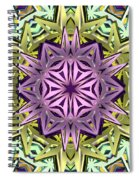 Cosmic Electricity Spiral Notebook