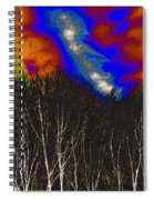 Cosmic Forces Spiral Notebook