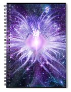 Cosmic Heart Of The Universe Spiral Notebook