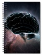 Cosmic Intelligence Spiral Notebook
