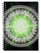 Cosmic Medallians Rgb 1 Spiral Notebook