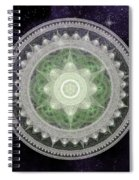 Cosmic Medallions Earth Spiral Notebook