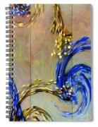 Cosmic Mitochondria Spiral Notebook