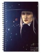 Cosmic Pilgrim Spiral Notebook