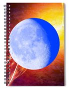 Cosmic Rhythm - Within Border Spiral Notebook