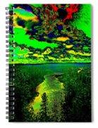 Cosmic River 2 Spiral Notebook