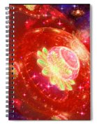 Cosmic Space Station Spiral Notebook
