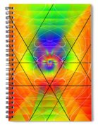 Cosmic Spiral Ascension 01 Spiral Notebook