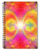 Cosmic Spiral Ascension 02 Spiral Notebook
