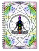 Cosmic Spiral Ascension 14 Spiral Notebook