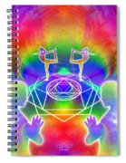 Cosmic Spiral Ascension 17 Spiral Notebook