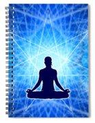 Cosmic Spiral Ascension 22 Spiral Notebook