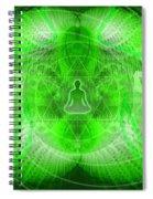 Cosmic Spiral Ascension 24 Spiral Notebook