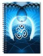 Cosmic Spiral Ascension 30 Spiral Notebook
