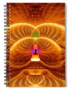 Cosmic Spiral Ascension 33 Spiral Notebook