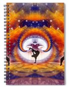 Cosmic Spiral Ascension 54 Spiral Notebook