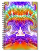 Cosmic Spiral Ascension 60 Spiral Notebook
