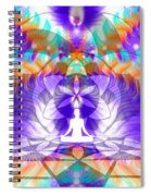 Cosmic Spiral Ascension 61 Spiral Notebook