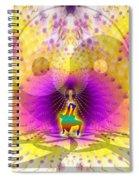 Cosmic Spiral Ascension 62 Spiral Notebook