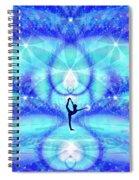 Cosmic Spiral Ascension 65 Spiral Notebook