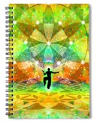Cosmic Spiral Ascension 66 Spiral Notebook