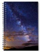 Cosmic Traveler  Spiral Notebook