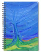 Cosmic Tree Spiral Notebook
