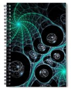Cosmic Web Spiral Notebook