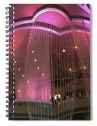 Cosmo Chandeliers  Spiral Notebook
