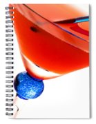 Cosmopolitan Spiral Notebook