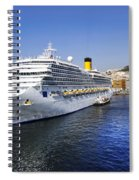 Costa Cruise Ship Spiral Notebook