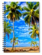 Costa Rican Paradise Spiral Notebook