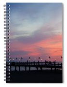 Costa Rican Sunset Spiral Notebook