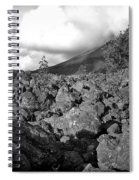 Costa Rican Volcanic Rock  Spiral Notebook