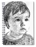 Costin Boy Spiral Notebook