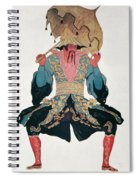Costume Design For A Chinaman Spiral Notebook
