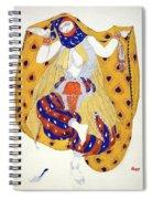 Costume Design For A Dancer Spiral Notebook