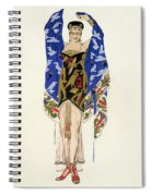 Costume Design For A Dancing Girl Spiral Notebook