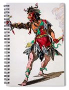 Costume Design For A Fury Spiral Notebook