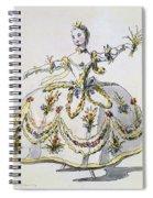 Costume Design For Ceres, Facsimile Spiral Notebook