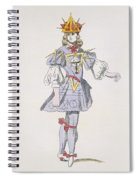 Costume Design For Geometry In A 17th Spiral Notebook