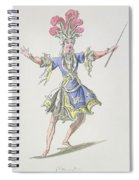 Costume Design For The Magician Spiral Notebook