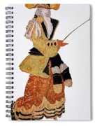 Costume Design For The Marchioness Spiral Notebook
