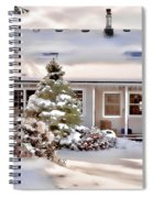 Cosy In Winter Spiral Notebook