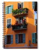 Cote D'azur Alley Spiral Notebook